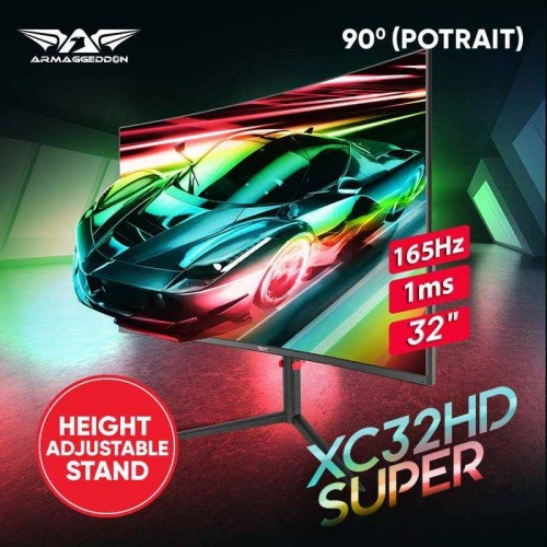 Xtreme XC32HD Super (Height Adjustable Stand)