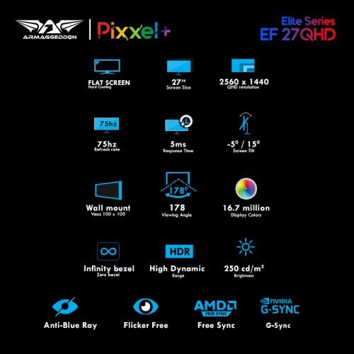 PIXXEL+ ELITE EF27QHD