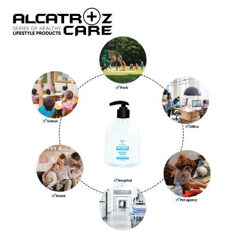 Alcatroz Hand Sanitiser Gel 30ml ~ 500ml