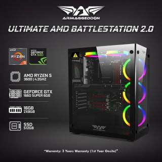 | Ultimate AMD Battlestation 2.0 | 3600 + 1660 Super