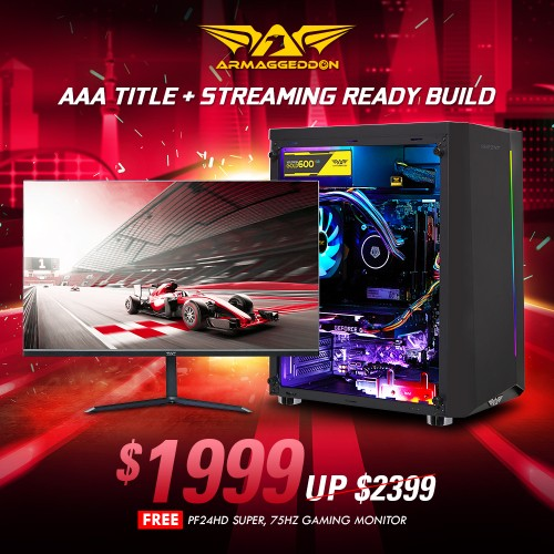 AAA Title AMD Build | Online Promo