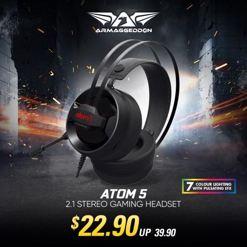 ATOM 5   Online Promo
