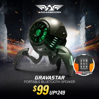 Gravastar + Free T-Shirt | May Promo