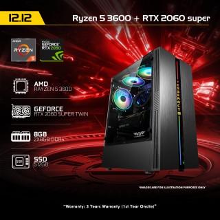 12 12 PC 1 Ryzen 5 3600 + RTX 2060 SUPER