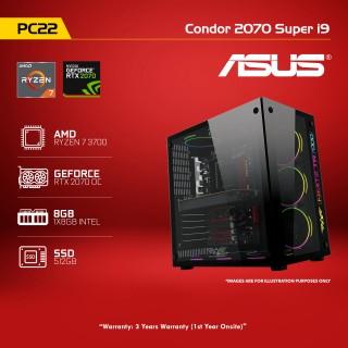 PC 22 Condor 2070 Super R7