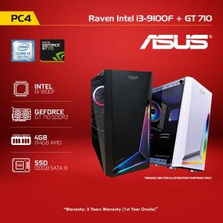 PC4 Raven Intel i3-9100F  +  GT 710