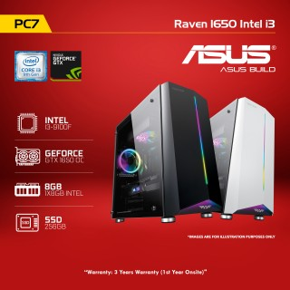 PC7 Raven 1650 Intel i3