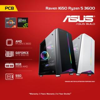 PC8 Raven 1650 Ryzen 5 3600