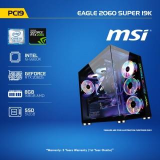 PC 19 Eagle 2060 SUPER i9K