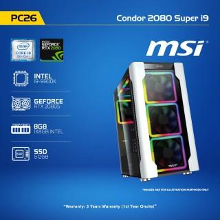 PC 26 Condor 2080 Super i9