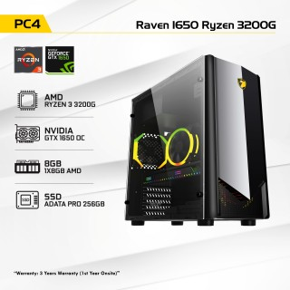 Raven 1650 Ryzen 3200G