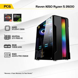 Raven 1650 Ryzen 5 2600
