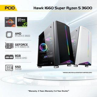 PC10 Hawk 1660 Super Ryzen 5 3600