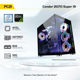 PC 21 Condor 2070 Super i9