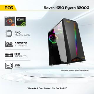 PC6 Raven 1650 Ryzen 3200G