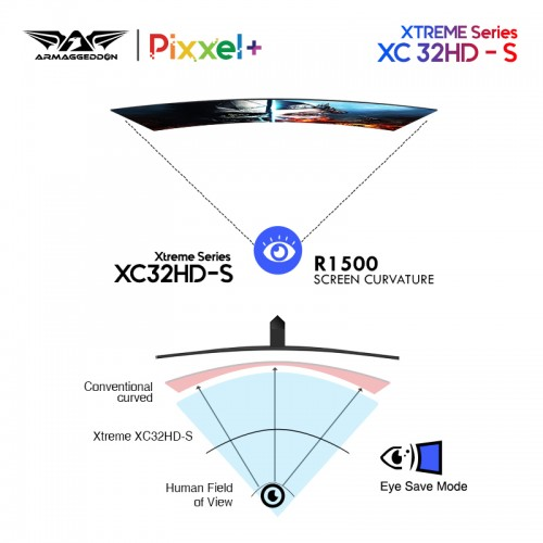 XTREME XC32 Super HD
