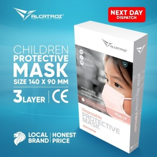 PRE-ORDER - 3-Ply Disposable Face Masks for Children 10/box