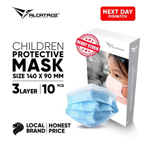 3-Ply Disposable Face Masks for Children 10/box