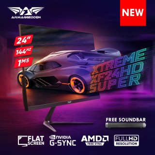 Armaggeddon Pixxel+ Xtreme XF24HD Super Gaming Monitor