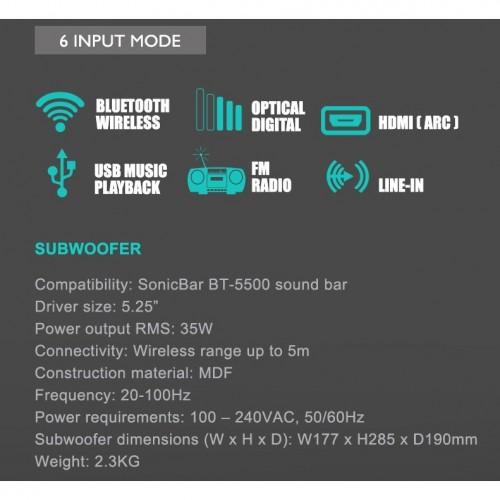 Sonicbar BT5500 | Online Promo