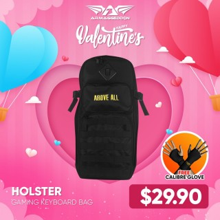 Holster 1 + FREE Calibre Gaming Glove | Valentine's Day Deals