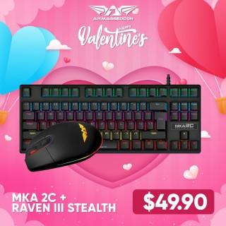 MKA-2C + Raven III Stealth Bundle | Valentine's Day Deals