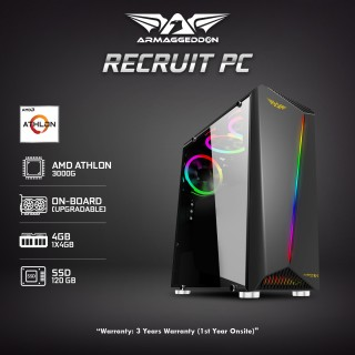| Recruit PC | Great Value Athlon 3000G