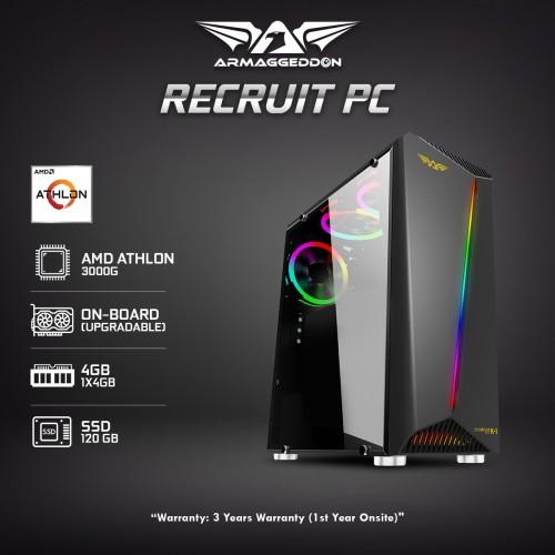 | Recruit PC | Great Value Athlon 3000G