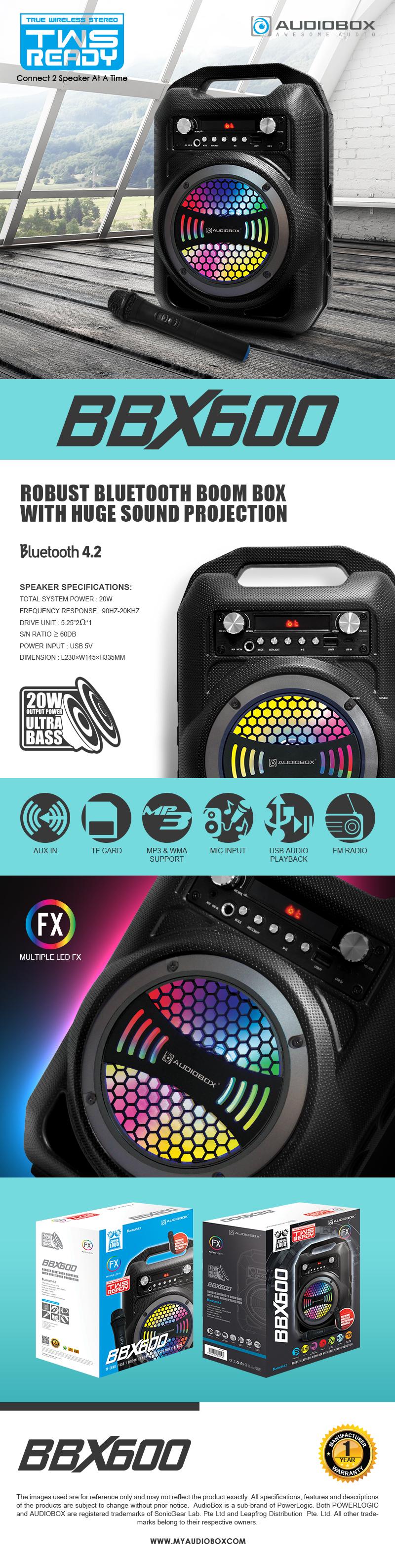 AudioBox BBX600 TWS